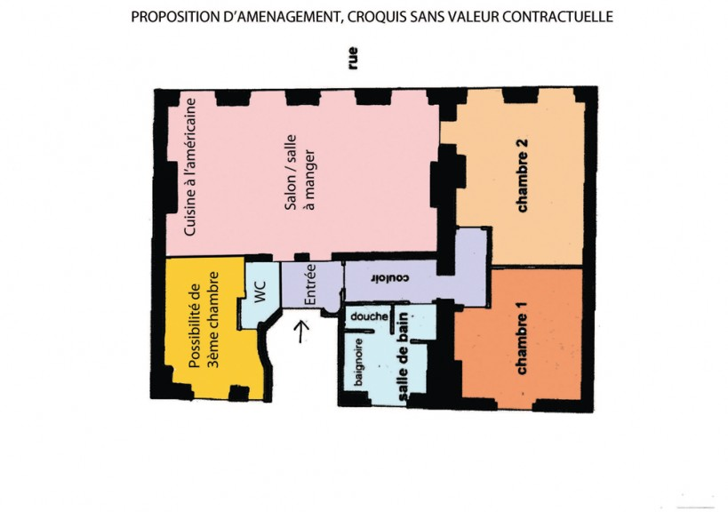 PROPOSITION D'AMENAGEMENT HORIZONTAL