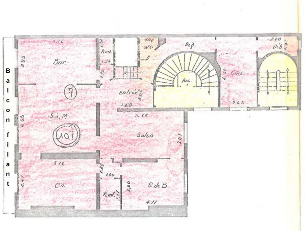 Avenue De La Grande Arme Appartement En Duplex De  M Aux