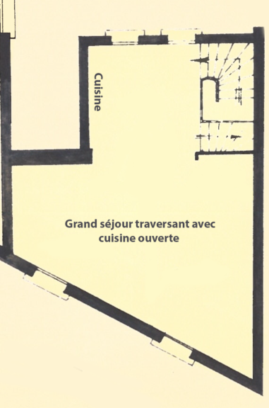 Rue du Transvaal – 1er Etage