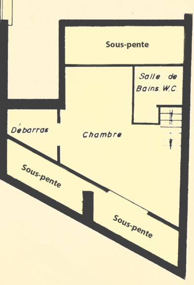 Rue du Transvaal – 2ème Etage